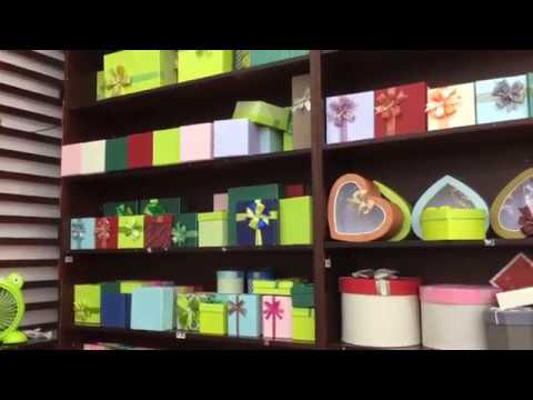 Hộp quà, túi giấy tại Nhà sách Fahasa Long Bình  - Đồng Nai
