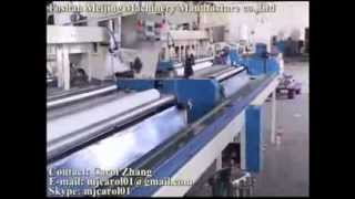 Toilet/kitchen paper production line (paper converting machine)