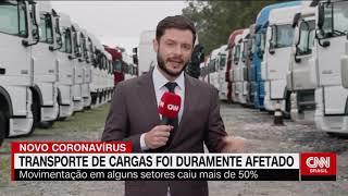 CNN Brasil repercute a pesquisa do impacto do coronavírus no transporte de cargas da NTC&Logística