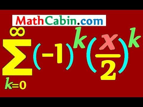 Power Infinite Series Functions Radius Interval of