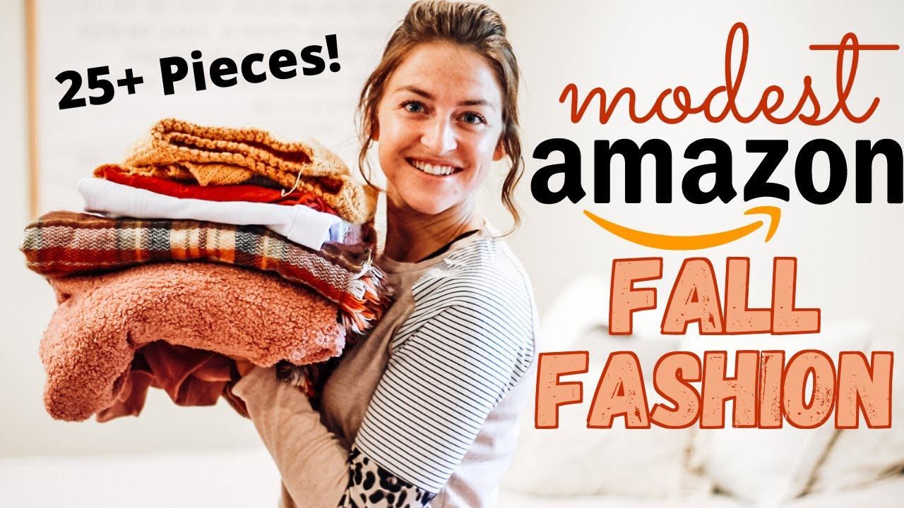 Modest Fall Closet Re-Haul + HUGE Amazon Try On Haul!   Megan Fox Unlocked