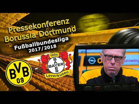 Borussia Dortmund - Bayer 04 Leverkusen: Pk mit Peter Stöger