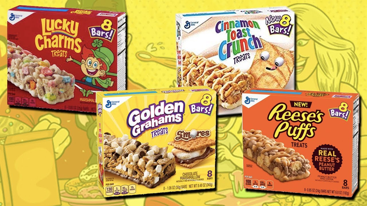 crunc golden grahams treats - 1280×720