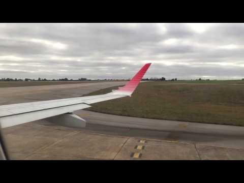 ✈ Embraer 190 Austral Full Flight Montevideo - Aeroparque