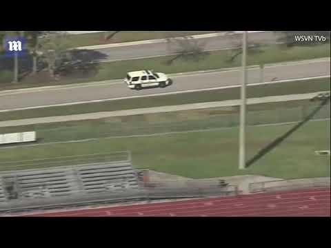บุกยิงนักเรียนในโรงเรียน Marjory Stoneman Douglas High School คลิปโดยDaily Mail