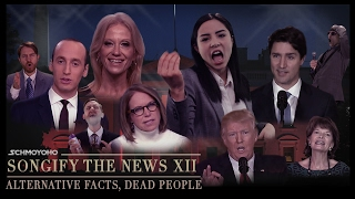 Repeat youtube video Alternative Facts, Dead People - Songify the News 12