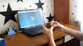 спидкубинг: сборка кубика Рубика 2x2 #1