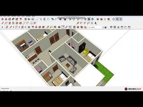 Desain rumah type 90 dengan 4 kamar
