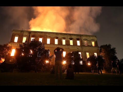 Brazil museum's incalculable losses spark outrage