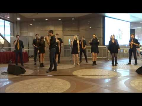 The Socal Vocals - Mobile Stage @ Time Square - 2016 Hong Kong International A cappella Festival