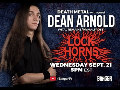 Death Metal Essential bands debate with Dean Arnold of Vital Remains  LOCK HORNS  archive