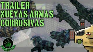 Trailer nuevas armas - corrosivas - war robots - reacción | PRISFOR