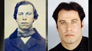 Фото Знаменитости и их двойники из прошлого, забавные совпадения