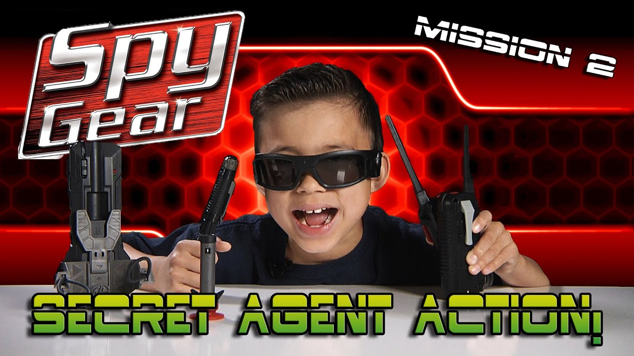 Spy Gear Quest For The Golden Egg Spike Mic Video Glasses Spy