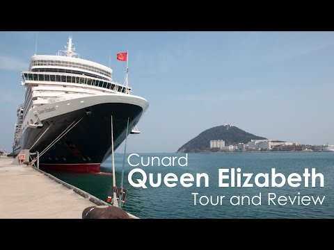 Cunard Queen Elizabeth Cruise Ship Tour and Review