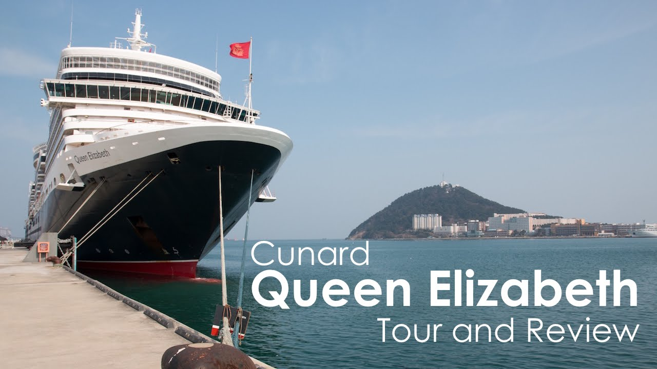 Cunard Queen Elizabeth Cruise Ship Tour and Review - YouTube