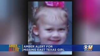 Amber Alert Issued For Abducted East Texas Toddler