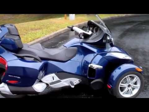 used 2010 can am spyder rt for sale in new port richey tampa florida youtube. Black Bedroom Furniture Sets. Home Design Ideas