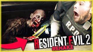 PAN ZOMBIE UKRADŁ MI NÓŻ! | Resident Evil 2 Remake [#2]