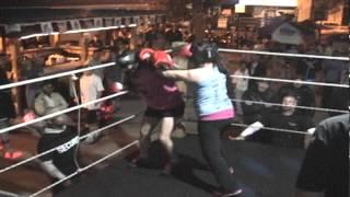6.6.2013 MAINSTREET BAR/GRILL FOXY BOXING MEGAN vs. JENNETTE