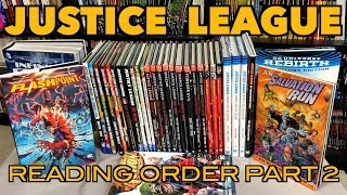 A comprehensive look at the reading order of Justice League Part 2!