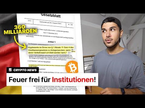 Neues deutsches Bitcoin Gesetz ab HEUTE! | Crypto News