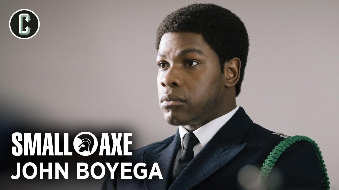 John Boyega Explains Why Steve McQueen Is a Special Filmmaker