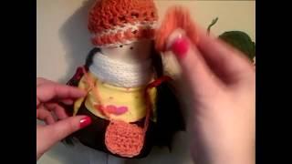 Сумка для Куклы Крючком. Урок Вязания Для Начинающих