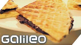 Nuss Nougat Schnitte, Lakritz, Geleebananen - Süßigkeiten DIY | Galileo Lunch Break