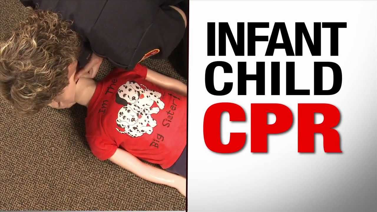 Infant Child Cpr Youtube