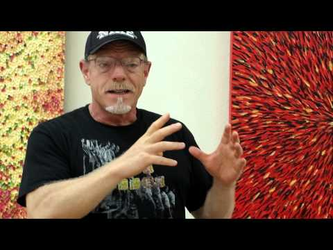 Painter Dean Triolo speaks about his retrospective