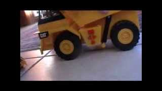 Toy Caterpillar Truck With Sound Effects