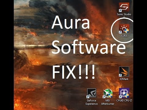 How to Fix Aura Software not opening