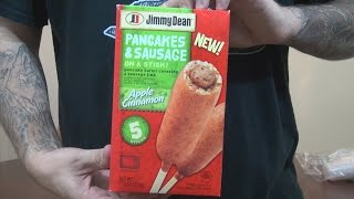 We Shorts - Jimmy Dean Pancakes & Sausage On A Stick Apple Cinnamon