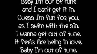 Sunrise Avenue - Out Of Tune [lyrics]