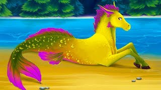 СИМУЛЯТОР МАЛЕНЬКОЙ ЛОШАДКИ - Игра как #мультик для детей про лошадку и принцессу #ПУРУМЧАТА