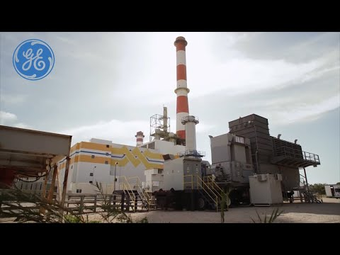 GE and Expo - TM2500 Aeroderivative Gas Turbine