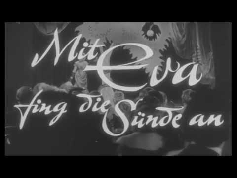 Mit Eva fing die Sünde an (1958, Fritz Umgelter) - Jetzt auf DVD! - mit Karin Dor - Filmjuwelen