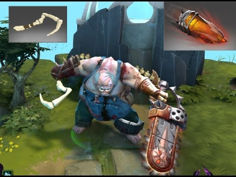 Dota 2 Pudge Kinetic Gem Trapper's Treachery and Crow's Feet ...
