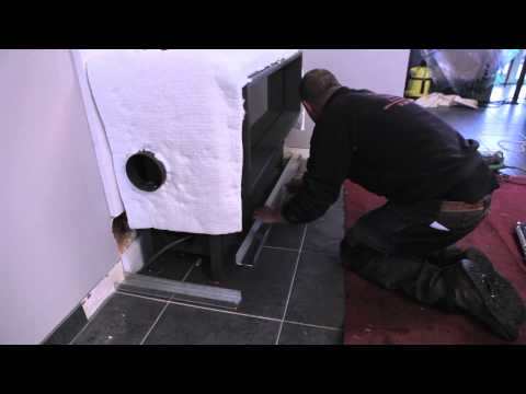 Promafour, the ideal insulation and mantelpiece for your fireplace