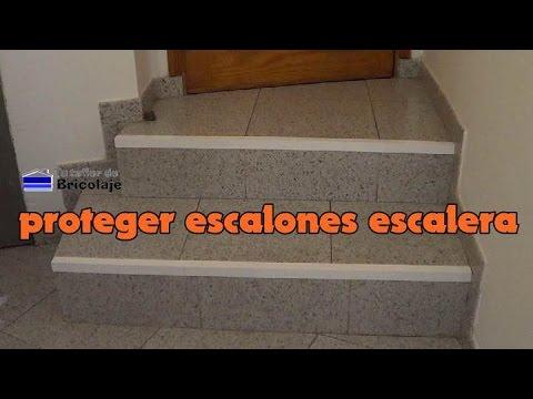 C mo proteger los escalones de la escalera youtube - Proteccion para escaleras ...
