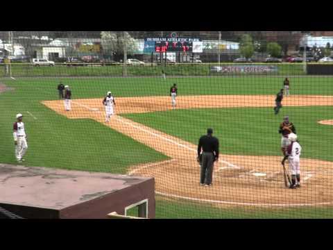 Christian Triplett  Home Run NCCU vs Bethune 03-19-16