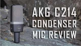 AKG C214 Condenser Microphone Review / Test
