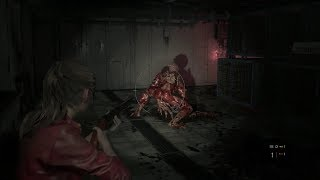 Resident Evil 2 Remake - L'enfer Lickers + zombies - Gameplay Claire