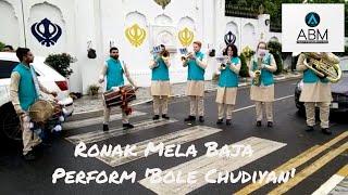 Gambar cover Ronak Mela Baja performing 'Bole Chudiyan'