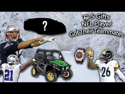 The Top 5 Gifts NFL Players Got Their Teammates!!! (Audi, ATV's, $13,000 Watches???)