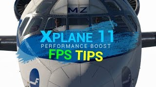 X Plane-11 Easy FPS  FIX 🛠HOW to Get 20-30 FPS more.