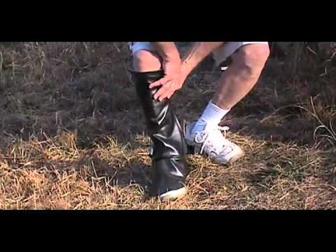 Lawn Chaps Lawn Clipping Leg Protectors Youtube