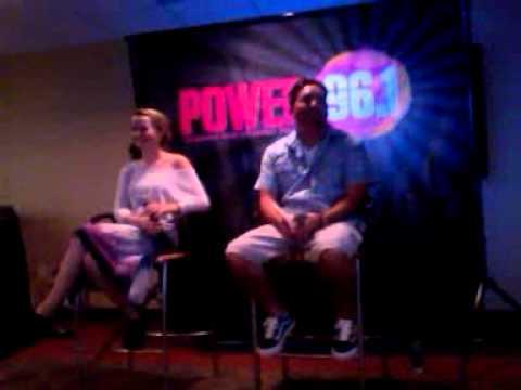 Bridgit Mendler at Power 96.1 Studios