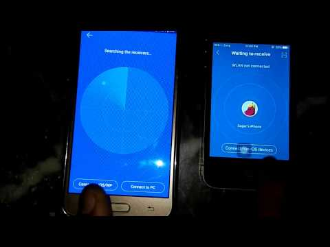 How to transfer file android to iphone   Share data ios to apk  how to use share it on iphone